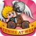 Eenies™ at War: Worms style online mmo battle with angry birds feel