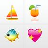 Apalon Apps - Teclas de Emoji - Teclado iOS 8 para Facebook, Twitter, Skype y WhatsApp portada
